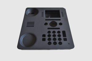 Plastic injection molding telephone