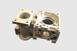 pressure die casting parts gold