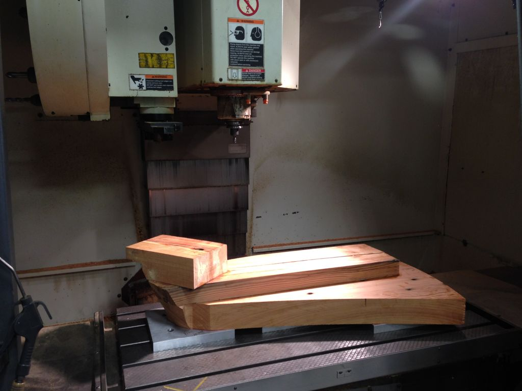 cnc wooden machining